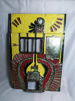 Vintage Slot Machine Front Plate