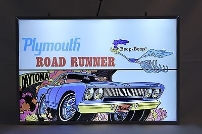 Plymouth Road Runner Sign Lighted Hemi Neon Sign Mopar Direct Connection Sign