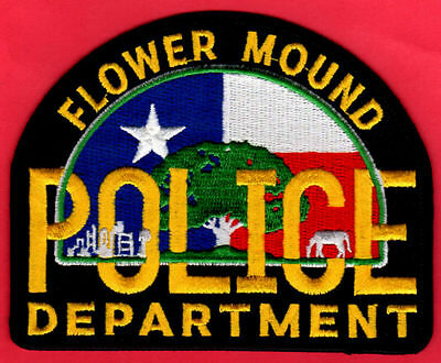 Flower Mound Texas Police Patch-NEW AND BIG