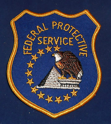 Unknown State: Federal Protective Service Police Shoulder Patch