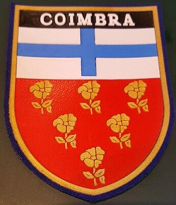 Portugal  Coimbra City Rubber Police Arm Patch 11X8,5Cm.