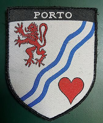 Portugal Porto Breast Police Patch With Velcro 10X8 Cm