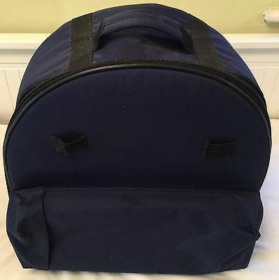Back Pack 14 X 6.5 Snare Drum Blue New Unused