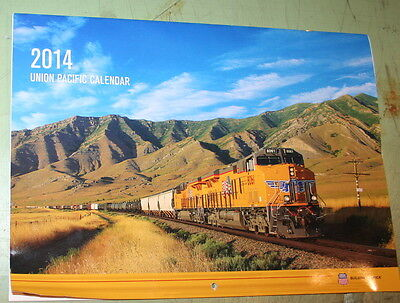 2014 Union Pacific Railroad Uprr Wall Calendar