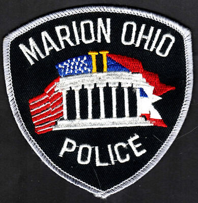 Marion Ohio Police Shoulder Patch