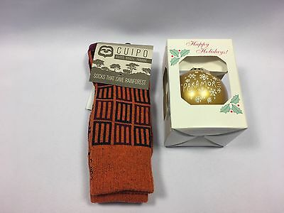 Paramore Limited Edition Cuipo Socks & Limited Release Holiday Ornament!  Rare!