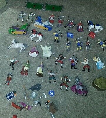 KidKraft, Papo & ELC Knights, Pirates and Horses Toy Figures