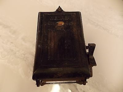 Vintage cast iron -Memrex  fuse box
