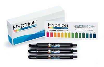 Phydrion 3 Pack Hydrion P-12m Insta- Chek 0-13 Range Mechanical Ph Pencils -