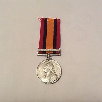 Full Size Replica Victorian South Africa Medal With Relief Of Ladysmith Bar