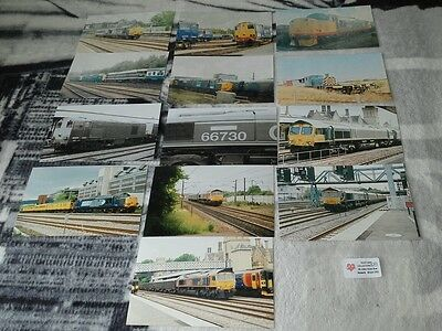 Diesel train photos collection lot 109