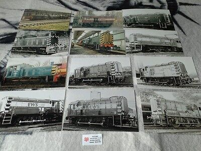 Diesel shunting  engines collection of photos  lot 112