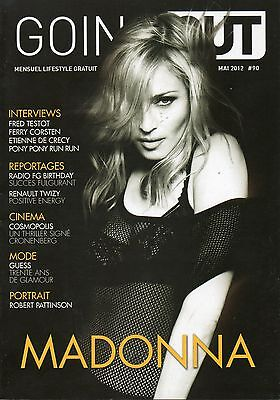 "Madonna full magazine cover "" going out """