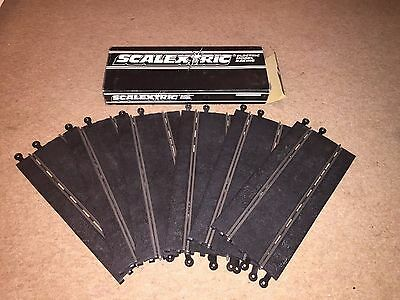 Scalextric Classic Track Straight D C160 Boxed x 6