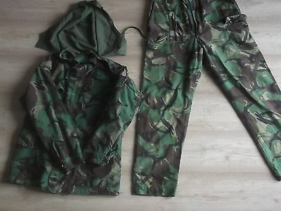 Genuine Ex-Army Nato DPM Cold Weather Camouflage Jacket Trousers Hood