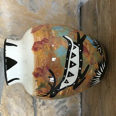 American Indian vase Red Feather Lodge