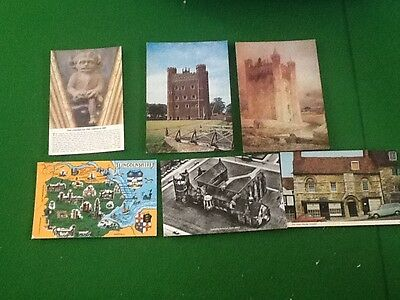 COLLECTION JOB LOT POSTCARDs Lincoln Lincolnshire