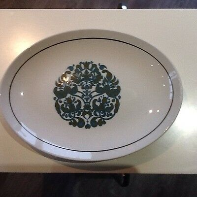 Ridgeway Serving Plates Oval MARTINIQUE 12by 8.5' Five Plates