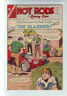 Hot Rods and Racing Cars #83 by Charlton comic feb 1967