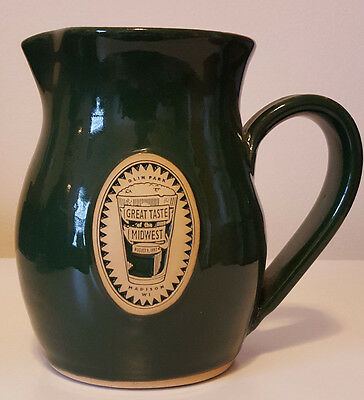 Great Taste of the Midwest 1997 Ceramic Pitcher - Brewers Gift