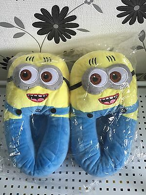 Minion One Size Slippers