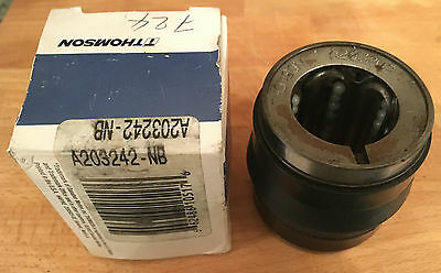 THOMSON A203242 Ball Bushing Bearing *NEW* 1-1/4X2X2-5/8IN EAN 662486105176