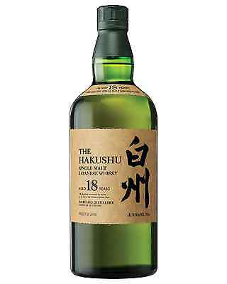 Hakushu 18 Year Old Japanese Whisky 700mL bottle Single Malt