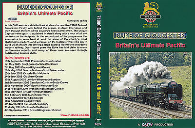 71000 Duke of Gloucester ~ Steam DVD by PSOV ~ in MINT condition