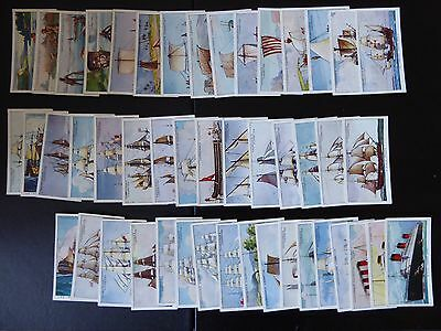 """Churchmans cigarette cards """"The Story of Navigation"""""""