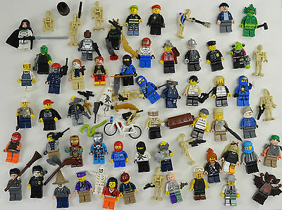 Superb Job Lot RARE Lego Minifigures. Harry Potter, Star Wars, Aliens, Ninjago