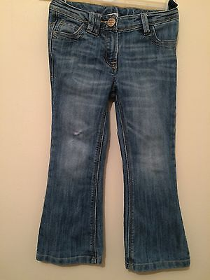 Girls NEXT DISTRESSED LOOKING JEANS , Age:4 Yrs