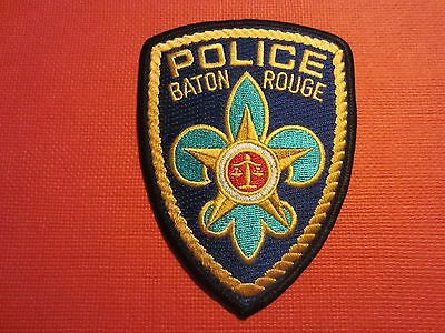 Collectible Louisiana Police Patch Baton Rouge Capital City New