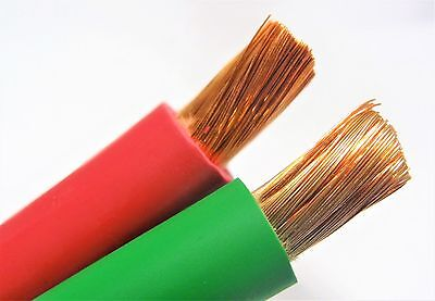 200/' 2//0 WELDING BATTERY CABLE 100/' BLACK 100/' YELLOW 600V USA HEAVY DUTY COPPER