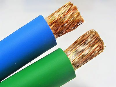 100/' FT 1//0 AWG WELDING//BATTERY CABLE YELLOW 600V MADE IN USA COPPER EPDM JACKET