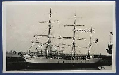 Sailing Ship French Bounty Barque Francoise d'Amboise Nantes WW1 LOss U-22 Sail