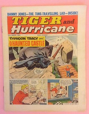 """""""TIGER and HURRICANE"""" COMIC DATED  26th MARCH 1966"""