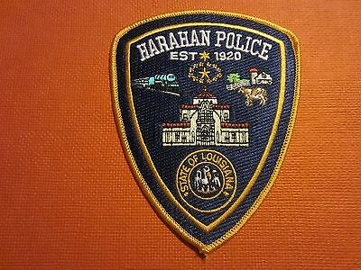 Collectible Louisiana Police Patch Harahan New