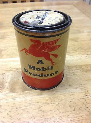 Pegasus By Mobil Oil, Vintage Motor Grease Can