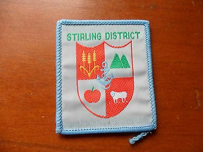 Stirling Scout District Western Australia Cloth Badge