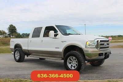 2005 Ford F-250 Lariat 2005 King Ranch 6.0 Powerstroke Diesel Leather 4wd Crew Cab Auto Bulletproof