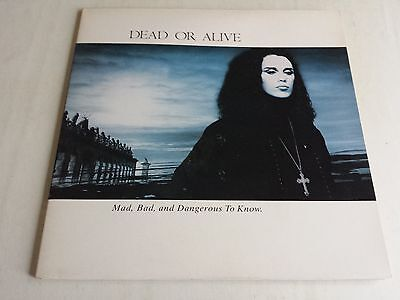 Dead Or Alive Mad, Bad And Dangerous To Know Lp 450257 1 Unplayed Time Capsule
