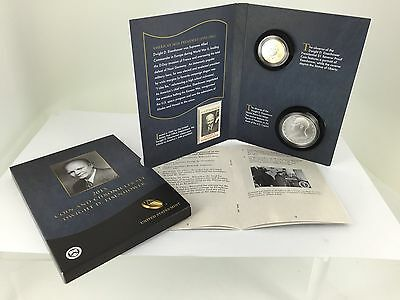 2015 Dwight Eisenhower Coin and Chronicles - IN HAND-IMMEDIATE SHIP