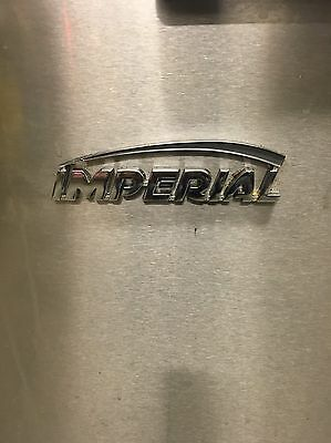 Imperial Single Tank Twin Basket Natural Gas Commercial Fryer