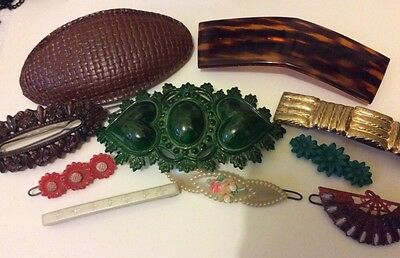 Vintage Lot Of Hair Accessories