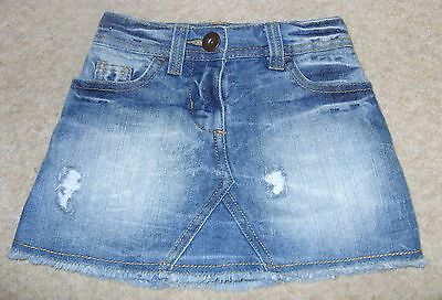 Next Blue Denim Skirt Size Age 3 Years