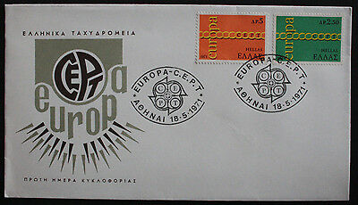 Greece 1973 European Transport Conf'nce Illustrated Unaddressed First Day Cover