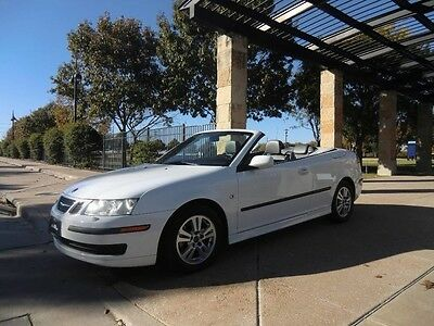2007 Saab 9-3 2.0T Convertible 2-Door 2007 SAAB 9-3 CONVERTIBLE . 1 OWNER TEXAS CAR . SUPER CLEAN