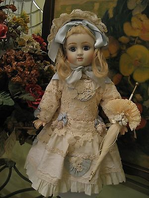 Antique French Bisque Head Doll Composition Body Jules Steiner Series A Repro