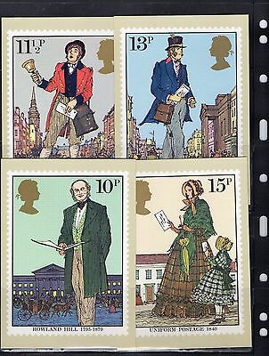 1979 Sir Rowland Hill - Mint Phq Set From Collection P/02