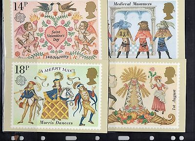 1981 Folklore - Mint Phq Set From Collection P/04